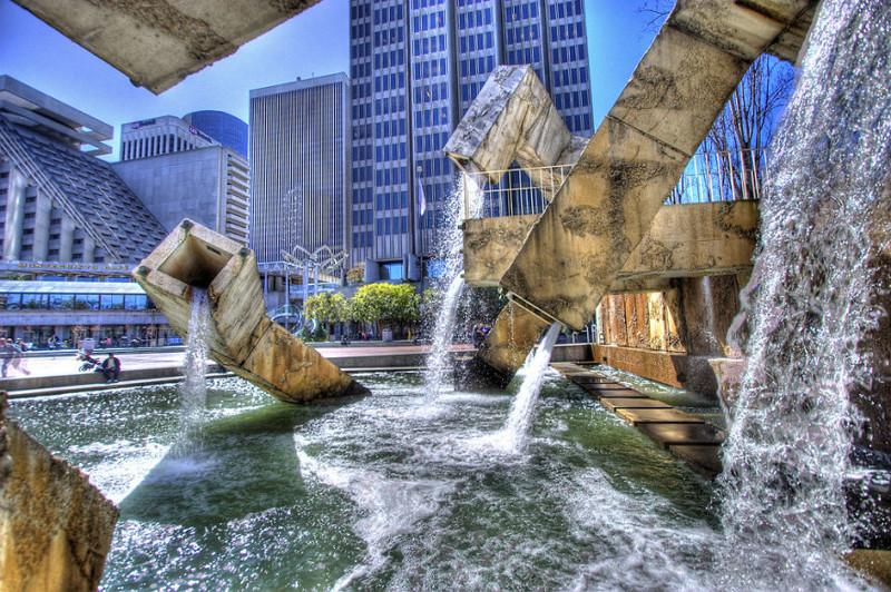 Фонтан Вальянкура, Сан-Франциско, США город, достопримечательность, интересное, мир, подборка, страна, фонтан, фото