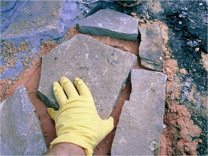Как сделать плоские камни 188