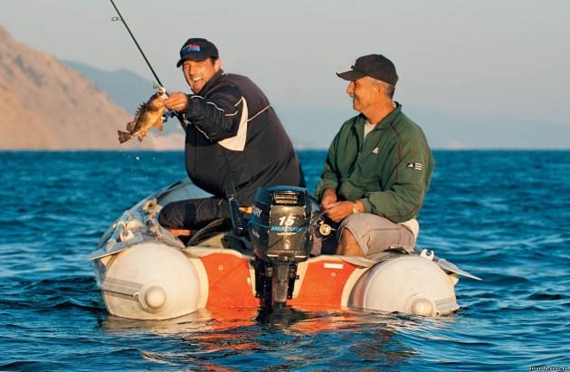 начало рыбалки на черном море