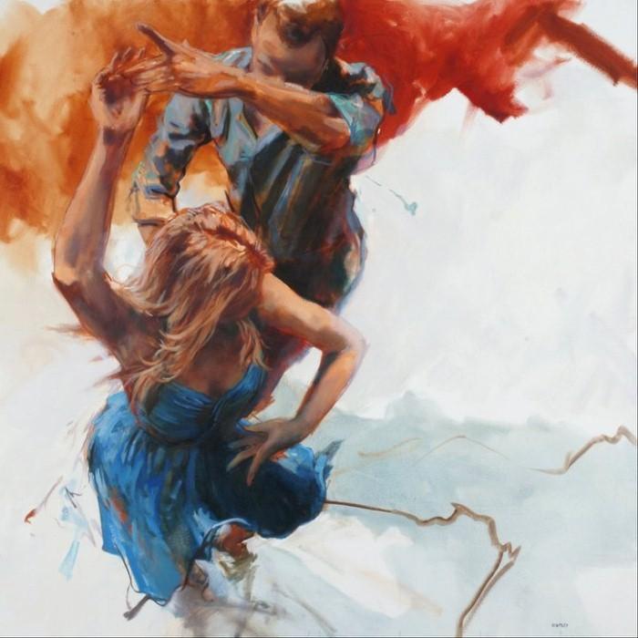 Танец в работах Аллена Бентли