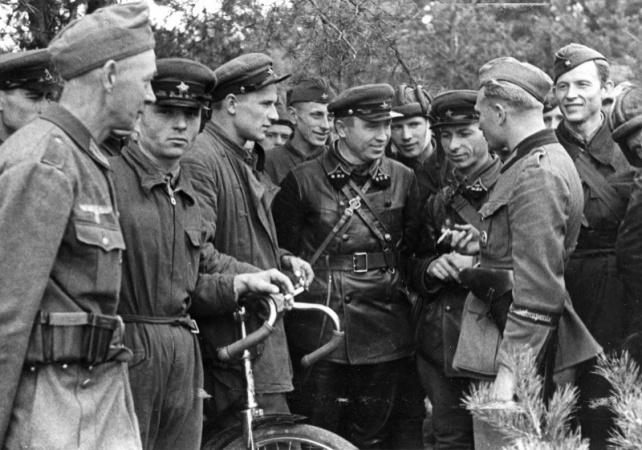 Что произошло после вступления Красной Армии на территорию Польши в сентябре 1939?