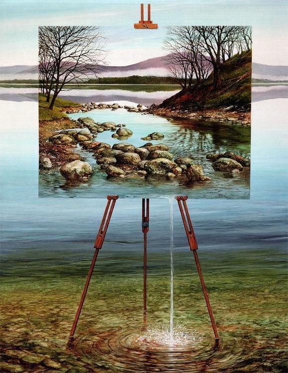Interpretation Outcome (61cm x 46cm)