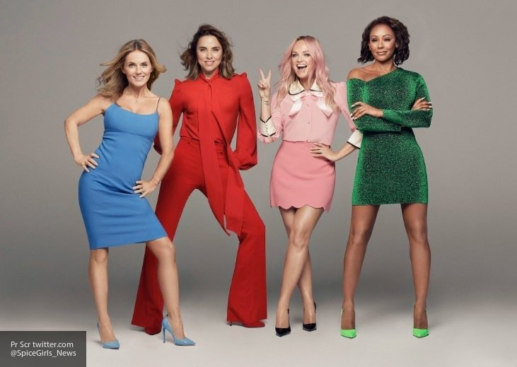 Группа Spice Girls отправится в турне без Виктории Бекхэм