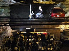 Робот обезвредил террориста-инвалида