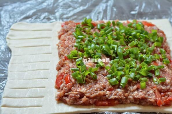 Закусочный рулет с мясом