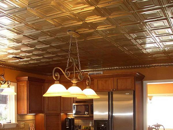 Commercial kitchen drop ceiling tiles