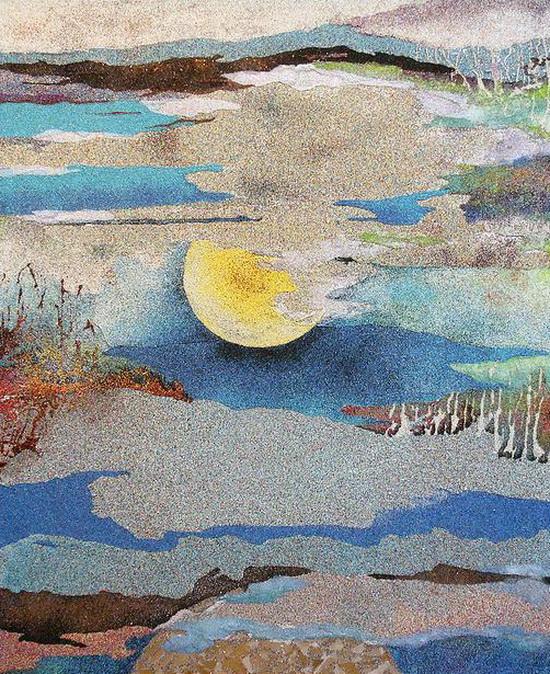 Картины с песком своими руками фото