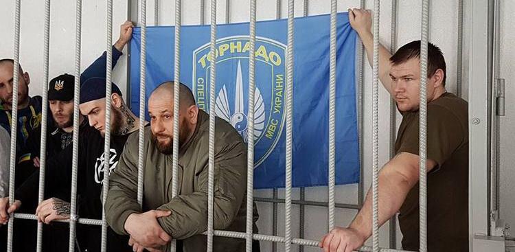 В киевском СИЗО торнадовец метнул в надзирателя отрезанным ухом