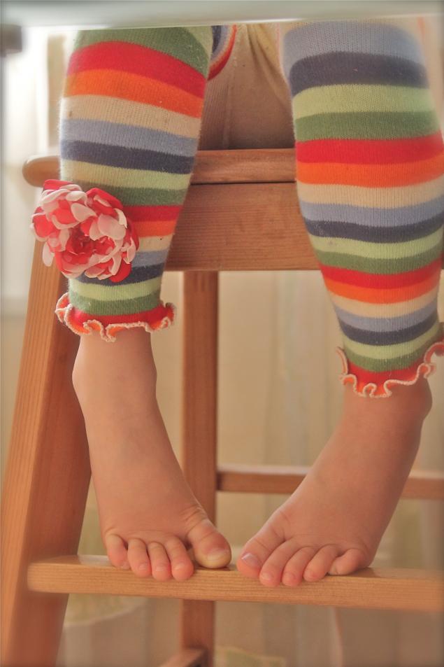 Что сделать из детских колготок своими руками