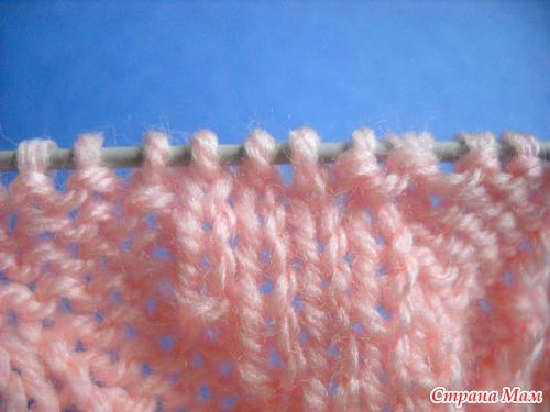 Носки по спирали. МК.