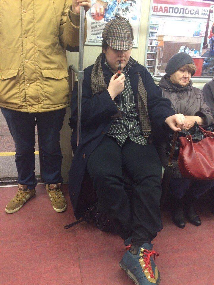 Убойные кадры из метро. Что это было?