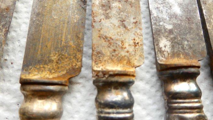 Очистка серебряных изделий в домашних условиях