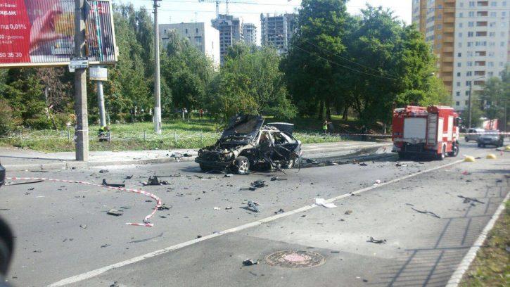Колесниченко: Подрыв разведчика в Киеве – попытка скрыть миллионные хищения