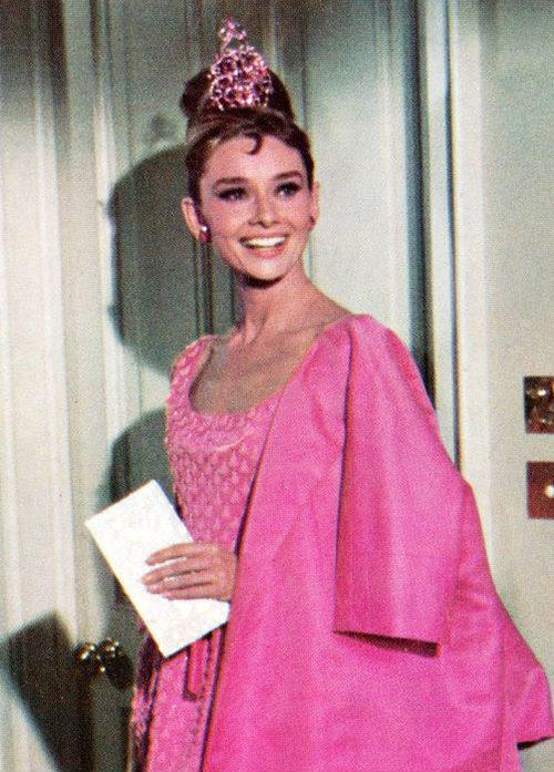Одри Хепберн в фильме «Завтрак у Тиффани», 1961