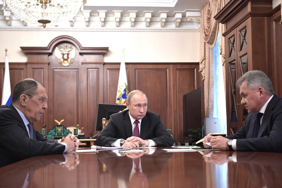 Зеркальный ответ Путина