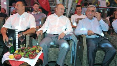 Президенты Азербайджана и Ар…