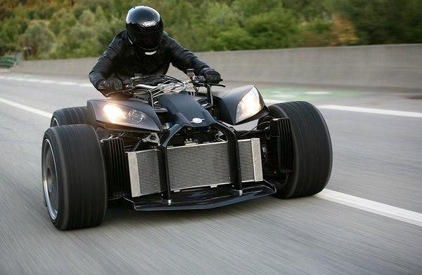 Wazuma V8 - самый дорогой в мире квадроцикл