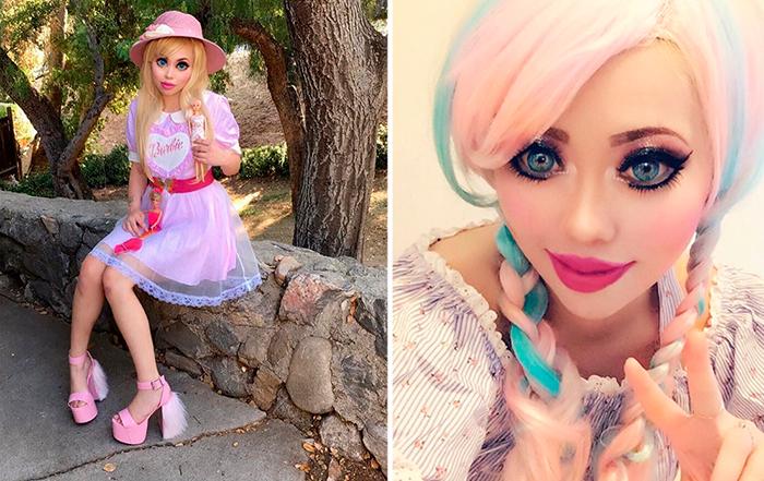 Китаянка полностью изменила свою внешность, чтобы стать похожей на куклу Барби