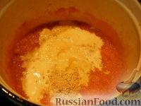 Фото приготовления рецепта: Сладкий тыквенный крем-суп с корицей - шаг №7