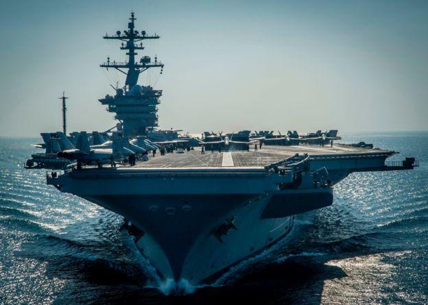 Пентагон: мы выполним свое обещание, «Карл Винсон» дойдет до берегов КНДР