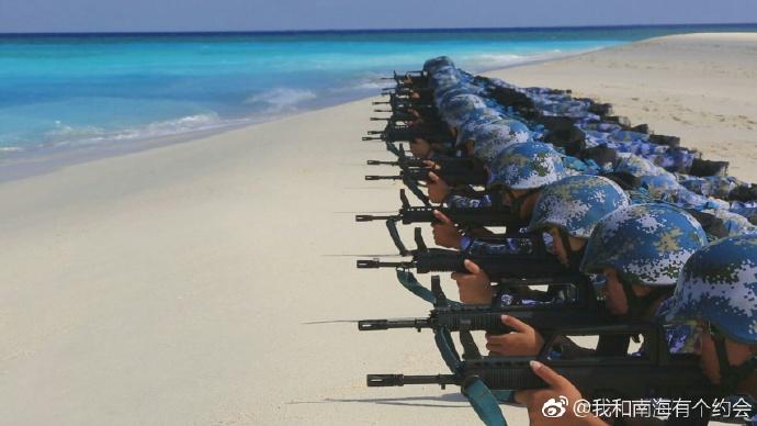 Впечатляющие темпы китайского строительства на островах в Южно-Китайском море