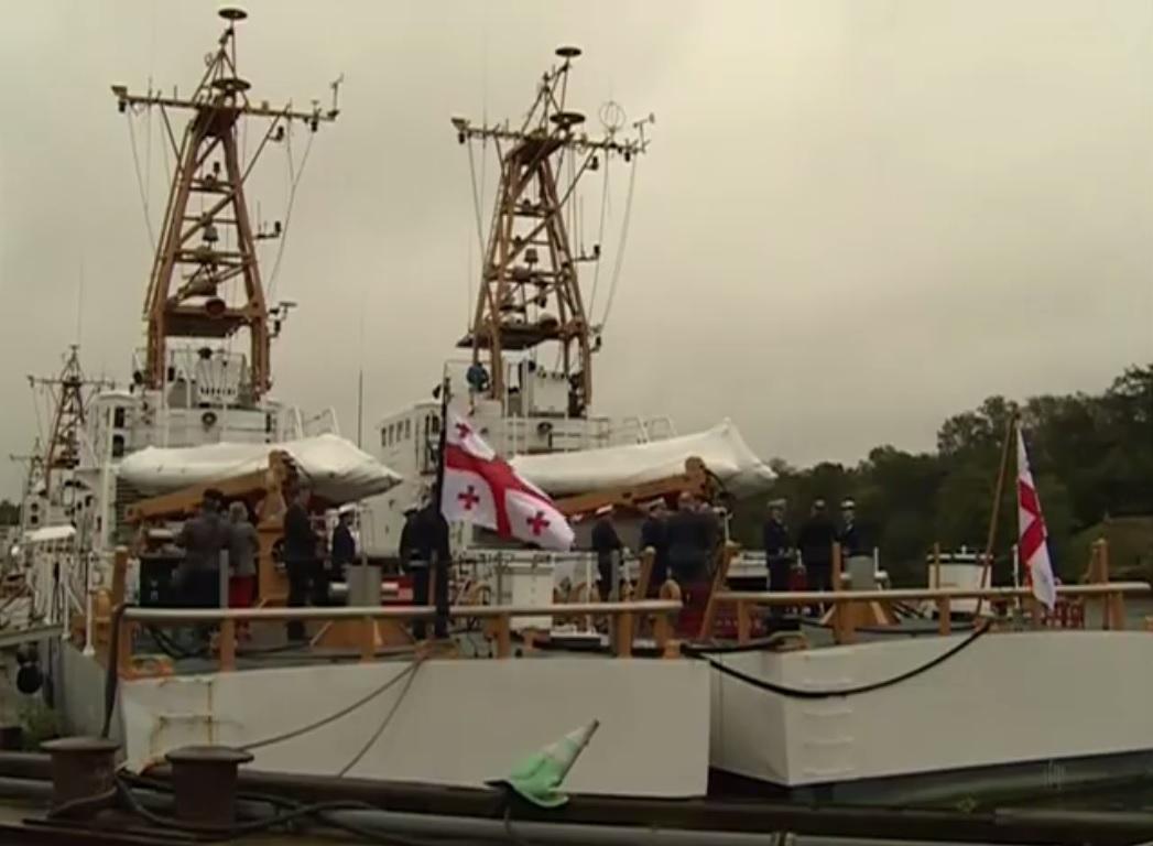Береговая охрана Грузии получила два американских сторожевых катера