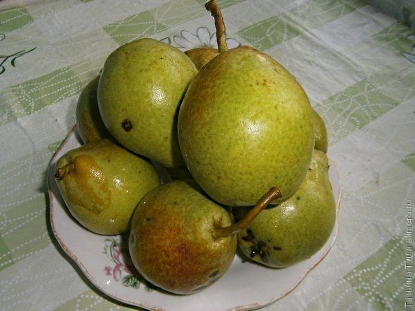 Варенье грушевое с лимоном