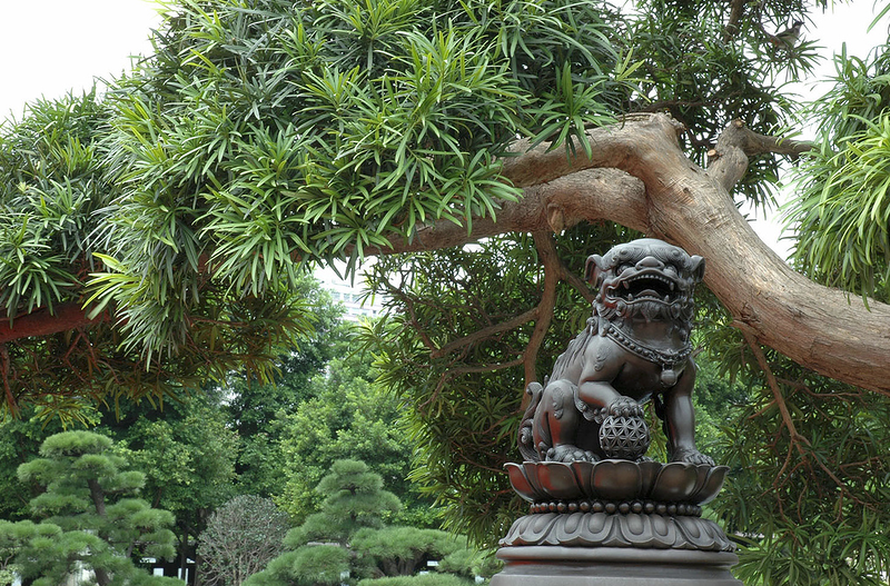 Сад Нан Лиан и женский монастырь Чи Лин