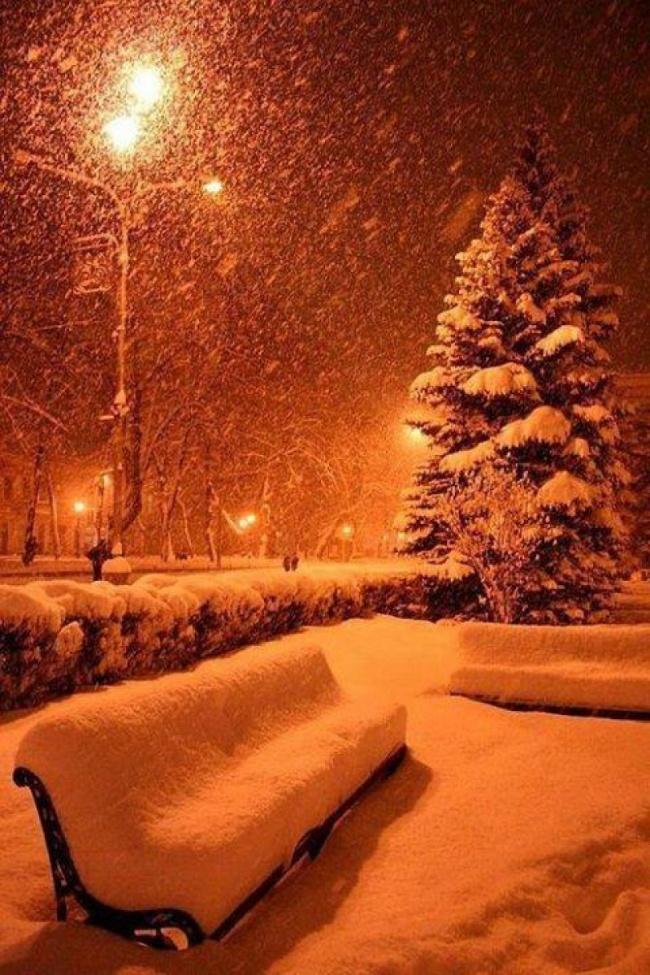 И тут я понял, что пришла зима