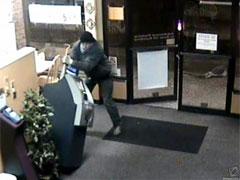 Преступники украли банкомат …