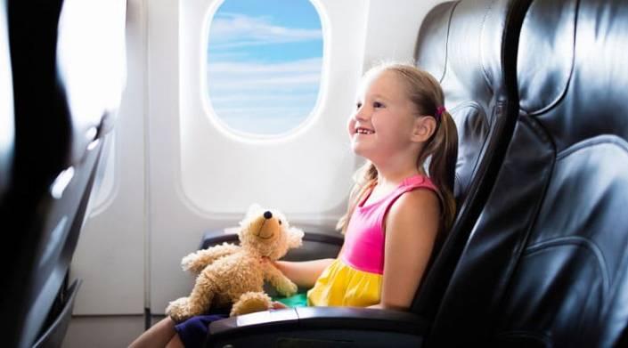 Разговор в самолете..
