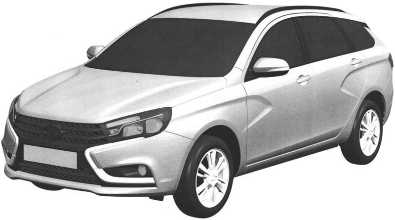 Универсал Lada Vesta: он будет именно таким