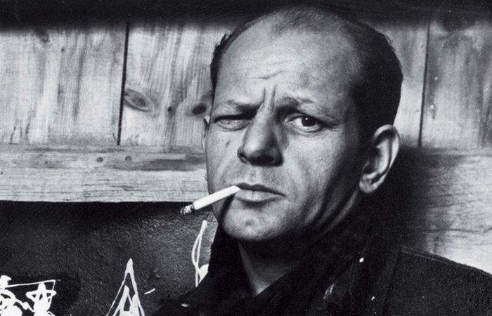 Джексон Поллок - один из самых ярких представителей абстрактного экспрессионизма.