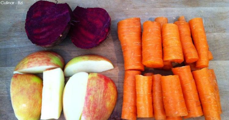 1 свекла, 2 моркови, 1 яблоко — Рецепт от известного китайского диетолога