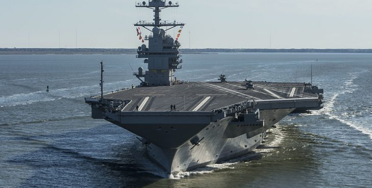 ВМС США приняли на вооружение самый дорогой авианосец в мире