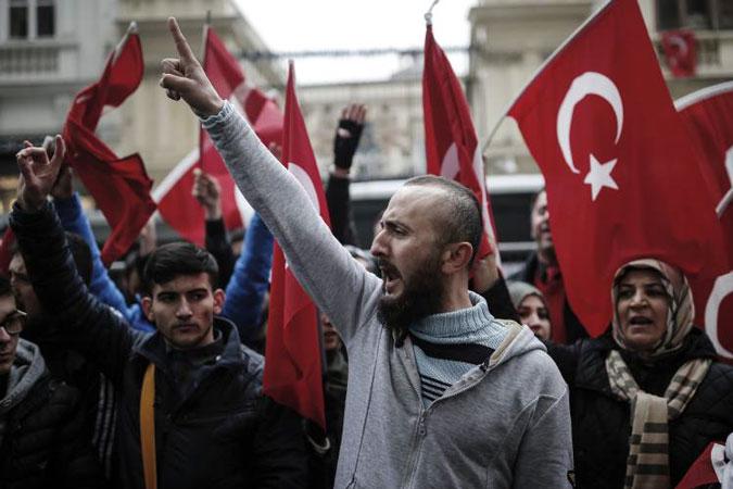 Турция против европейских туристов