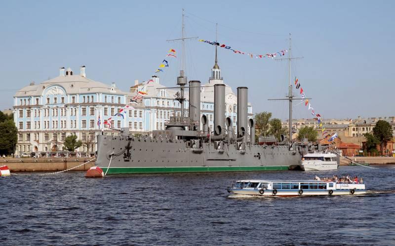 С днём рожденья, «Аврора»! 120 лет со дня начала строительства крейсера