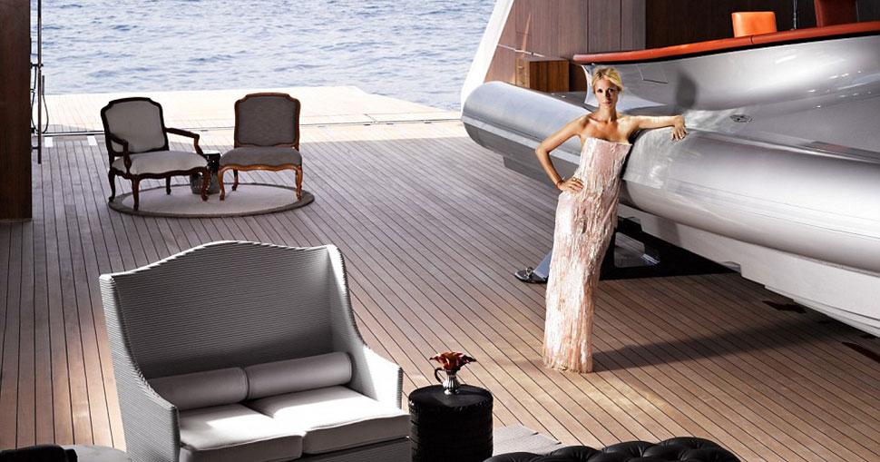 Впервые опубликованные снимки роскошных интерьеров яхты миллиардера Мельниченко за 300 миллионов долларов