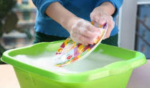 Домашняя универсальная паста для мытья посуды.