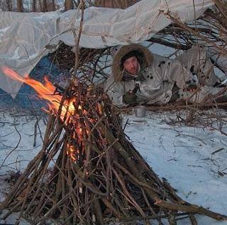 10 правил для выживания в лесу зимой (личный опыт)