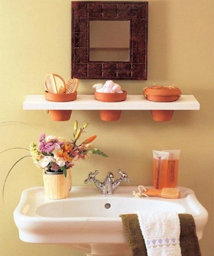 15 замечательных идей для тех, у кого маленькая ванная