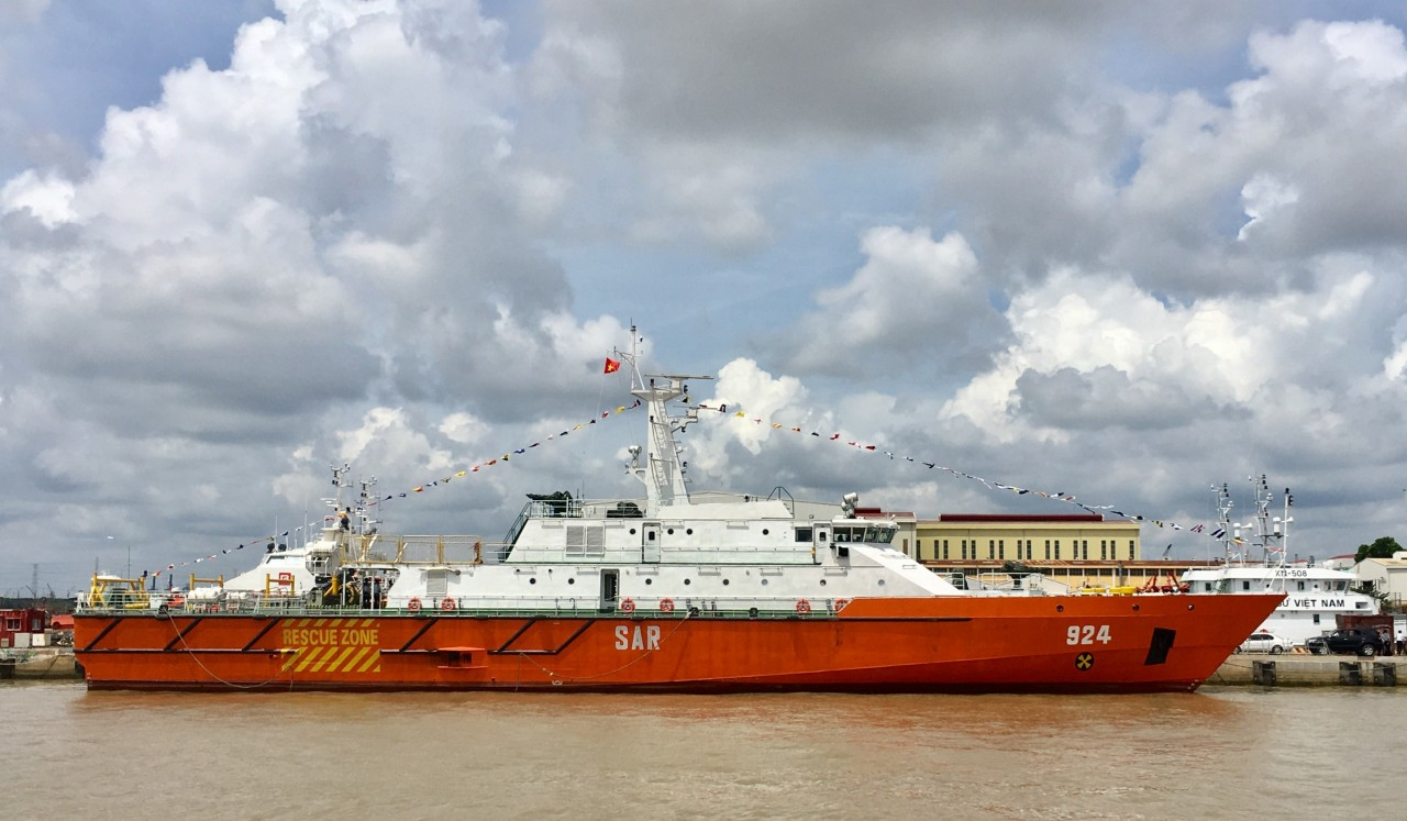 Вьетнамский флот получил головной патрульно-спасательный корабль российского проекта
