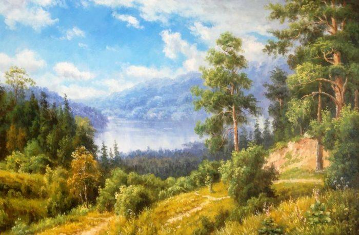 Российский художник Руслан Смородинов