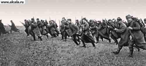 Русский солдат в первой мировой войне.