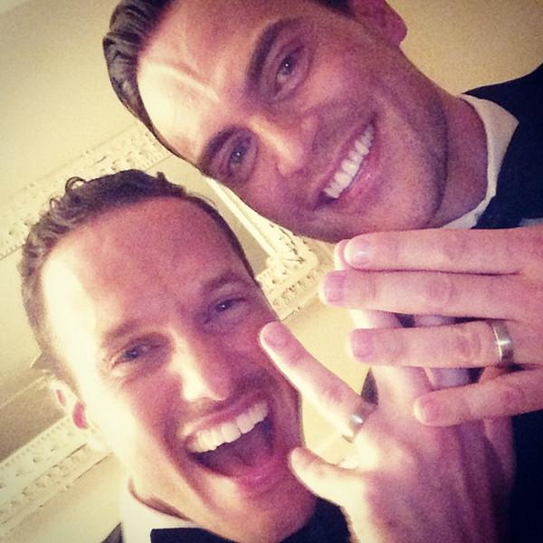 Cheyenne Jackson Marries Boyfriend Jason Landau—Get the Details!