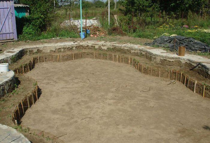 Бассейн на дачном участке своими руками своими руками, бассейн