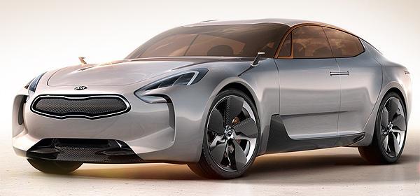 Четырехдверное купе Kia GT отправят в серийное производство