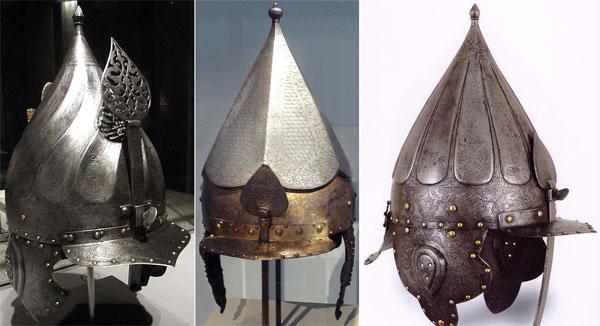 шлемы Востока
