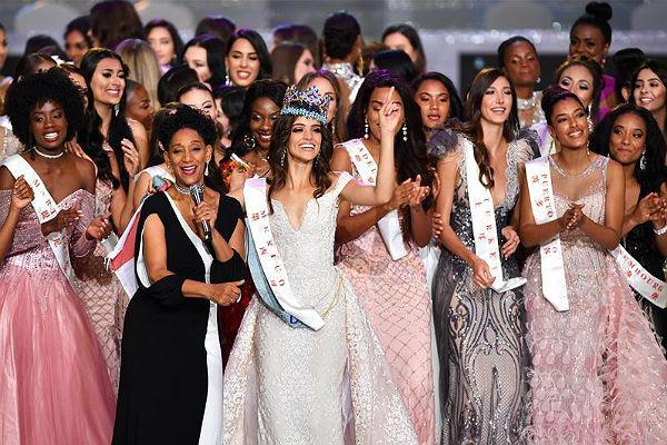 Мексиканка Ванесса Понсе победила в конкурсе  «Мисс мира-2018»