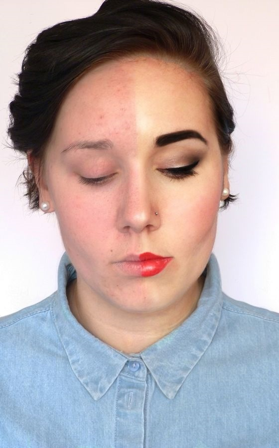 Вот как женщины обманывают мужчин. 15 девушек с макияжем и без.